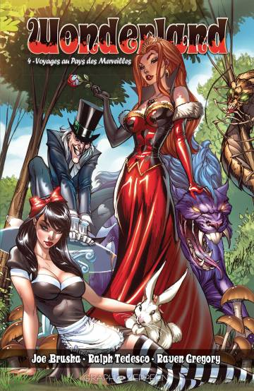 Wonderland : 4 - Voyages au Pays des Merveilles