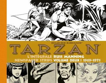 Tarzan : newspaper strips, tome 2