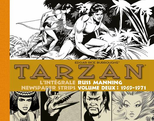 Tarzan : newspaper strips, tome 2