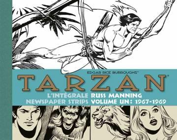 Tarzan : L'intégrale des newspaper strips de Russ Manning , vol. 1 (1967-1969)