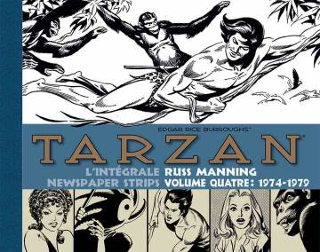 Tarzan : L'intégrale des newspaper strips de Russ Manning , vol. 4 (1974-1979) + étui