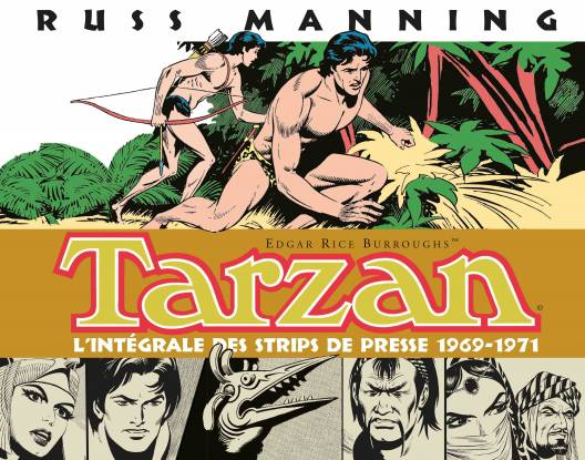 Tarzan strips de presse, tome 2