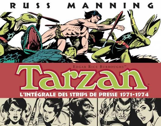 Tarzan : L'intégrale des strips de presse : 1971-1974, vol. 3