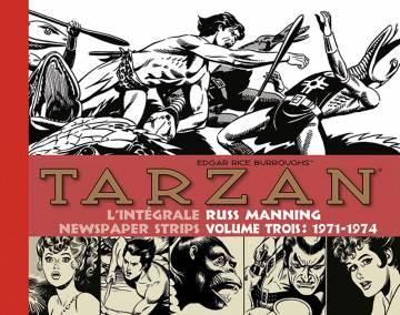 Tarzan : L'intégrale des newspaper strips de Russ Manning , vol. 3 (1971-1974)