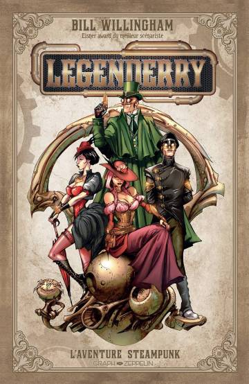 Legenderry : L'aventure steampunk