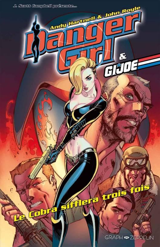 Danger Girl & GI Joe : le Cobra sifflera trois fois